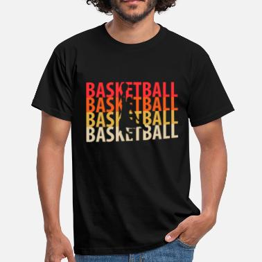 Basket Basket ball Basketball - Männer T-Shirt