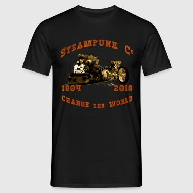 Steampunk Co. Vintage - Männer T-Shirt
