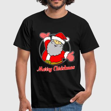 Merry Christmas - Santa - Nicholas - Men's T-Shirt