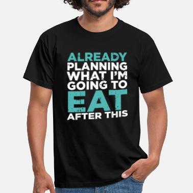 Training Plan Training Detailed Plans Funny Gift - Men's T-Shirt