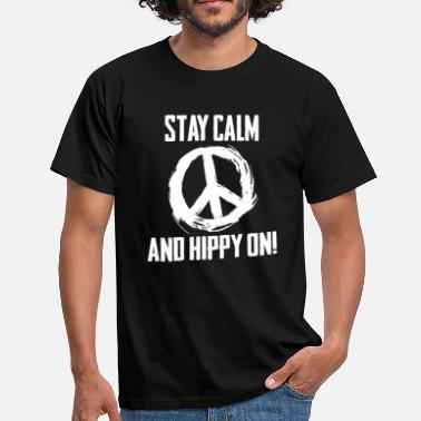 Hippies Niño Hippie Peaceful Vibration Cool Gift - Camiseta hombre