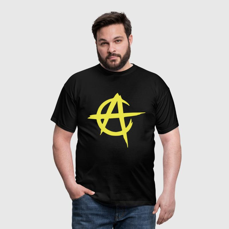 anarcho capitalism vector - T-shirt Homme