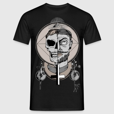DEATH and LIFE - Männer T-Shirt
