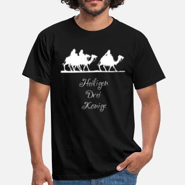 Holy Communion Holy 3 Kings holiday - Men's T-Shirt