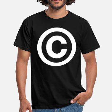 Plagiaat copyright - Mannen T-shirt