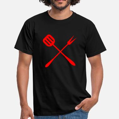 Allume Barbecue Barbecue set Pinces à barbecue Barbecue barbecue - T-shirt Homme