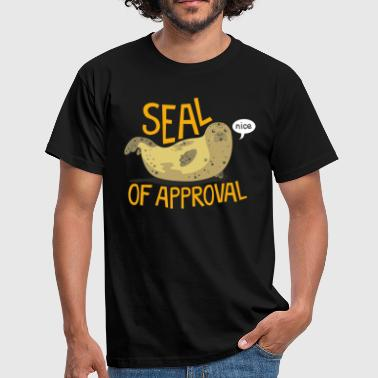 Seal Graphic Seal Of Approval - Men's T-Shirt