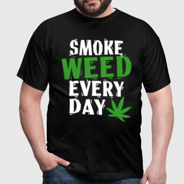 Smoke Weed Everyday Linovert - T-shirt Homme