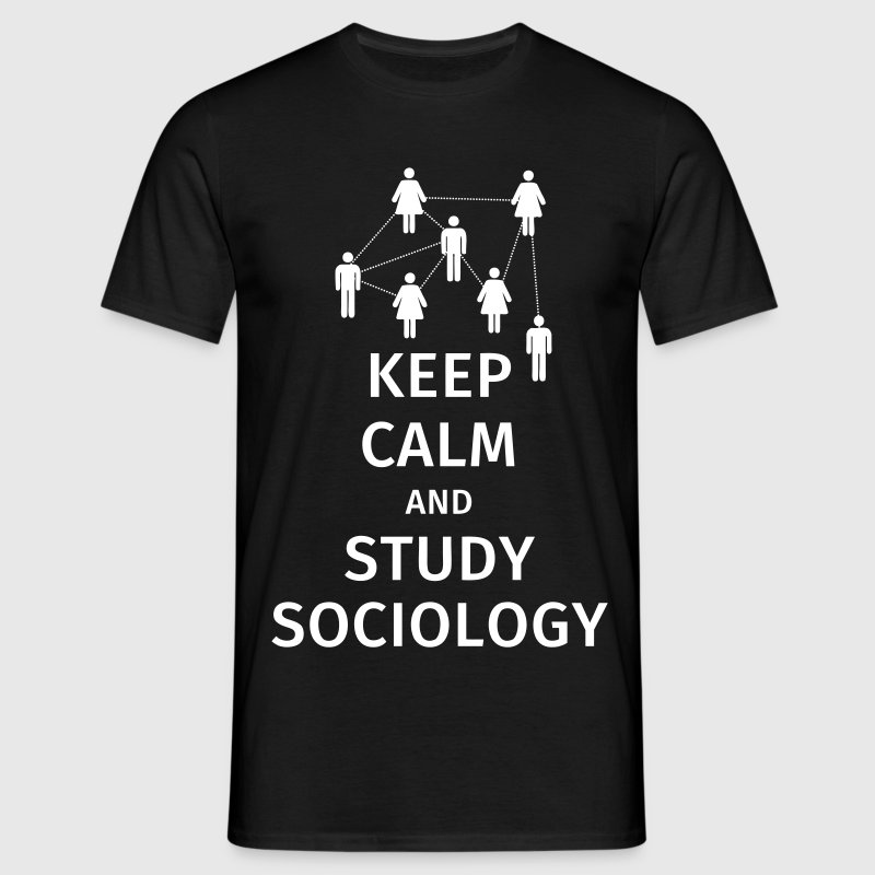 keep calm and sociology - Men's T-Shirt