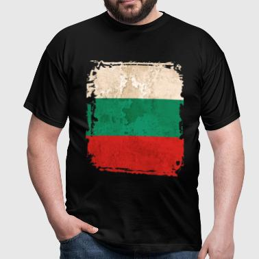 Bulgaria Flag - Men's T-Shirt