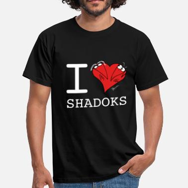 Shaddock I love shadoks pour vêtements sombres - T-shirt Homme