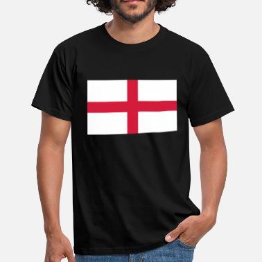 George St George's Cross - English Flag - Men's T-Shirt