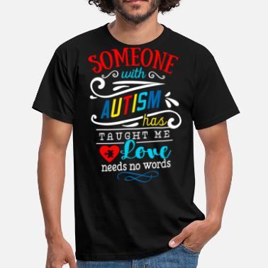 Oplysning Om Autisme Autisme Autist ADHD Autism Asperger Gave - Herre-T-shirt