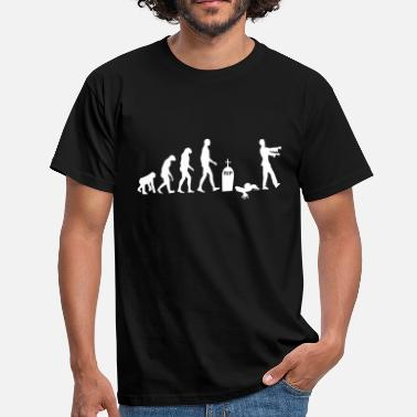 Supernatural Zombie Evolution - Men's T-Shirt