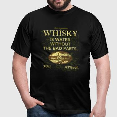 Whisky is Water - Maglietta da uomo