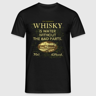 Whisky is Water - Mannen T-shirt