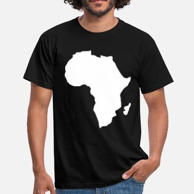 Continent Africa the dark continent  - Men's T-Shirt