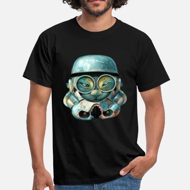 Funny TROOPERCAT - Men's T-Shirt