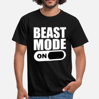Beast Beast Mode On - Men's T-Shirt