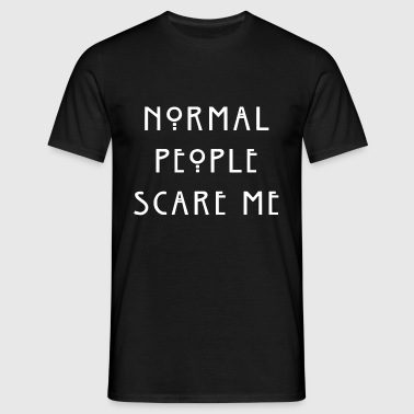 Normal People | white - Mannen T-shirt
