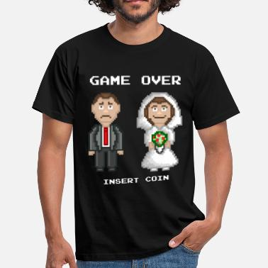 Stag Marriage - Game Over - Men's T-Shirt