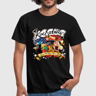 Rockabilly - Rock'nRoll Design - Männer T-Shirt