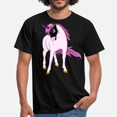 Sex Slave Unicorn sex slave - Men's T-Shirt