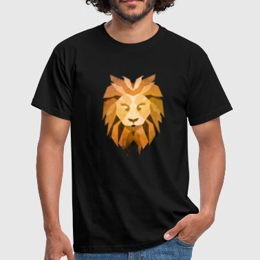 LION - King of the Beasts - Men's T-Shirt
