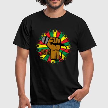 Reggae eu - Men's T-Shirt