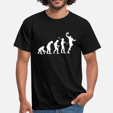 Evolution of Man - Basketball - Men's T-Shirt