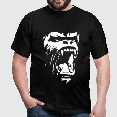 Gorilla roar - Men's T-Shirt