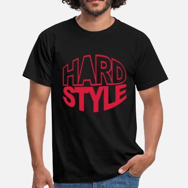 Hardstyle Wear Hardstyle Circle - Mannen T-shirt
