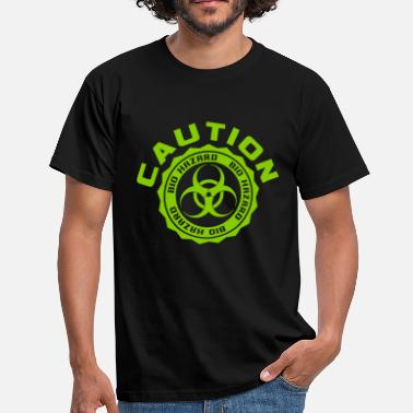 Bio Hazard Caution - Bio Hazard - Männer T-Shirt