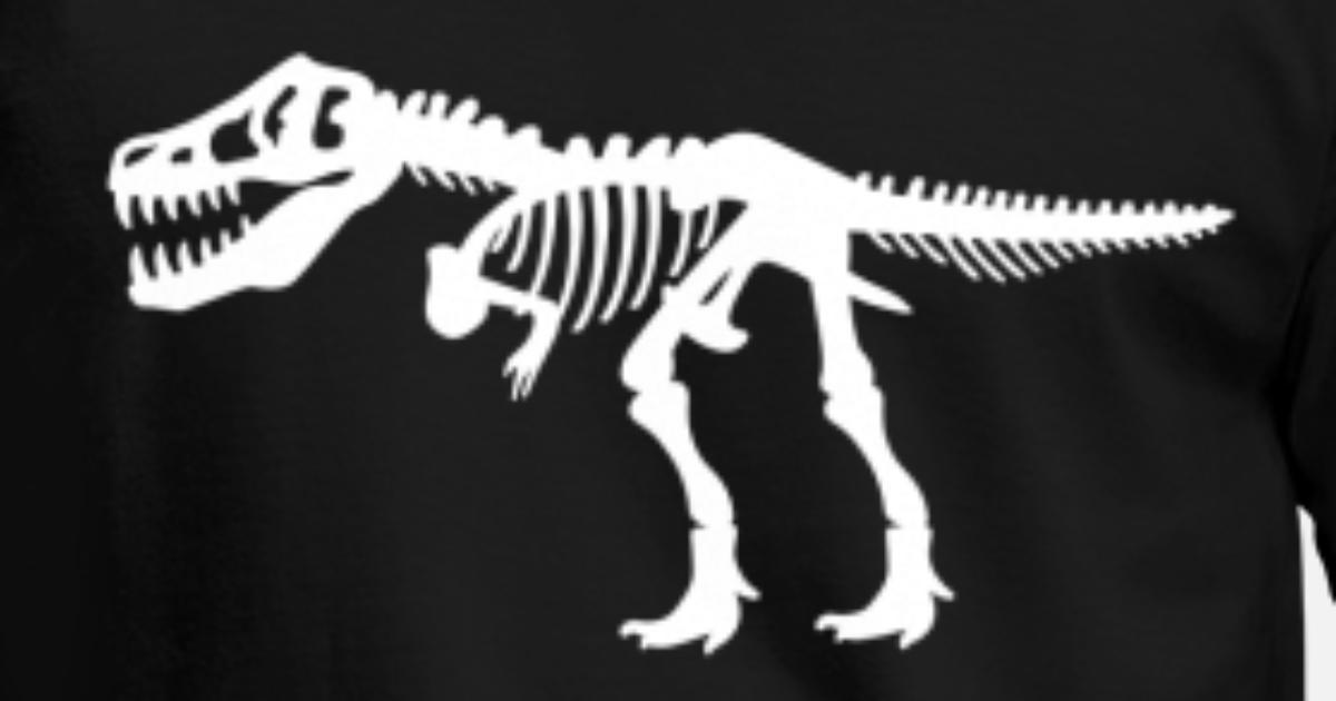 bf45340f8b723f Tyrannosaurus Rex T.Rex Dinosaur Skeleton Men s T-Shirt
