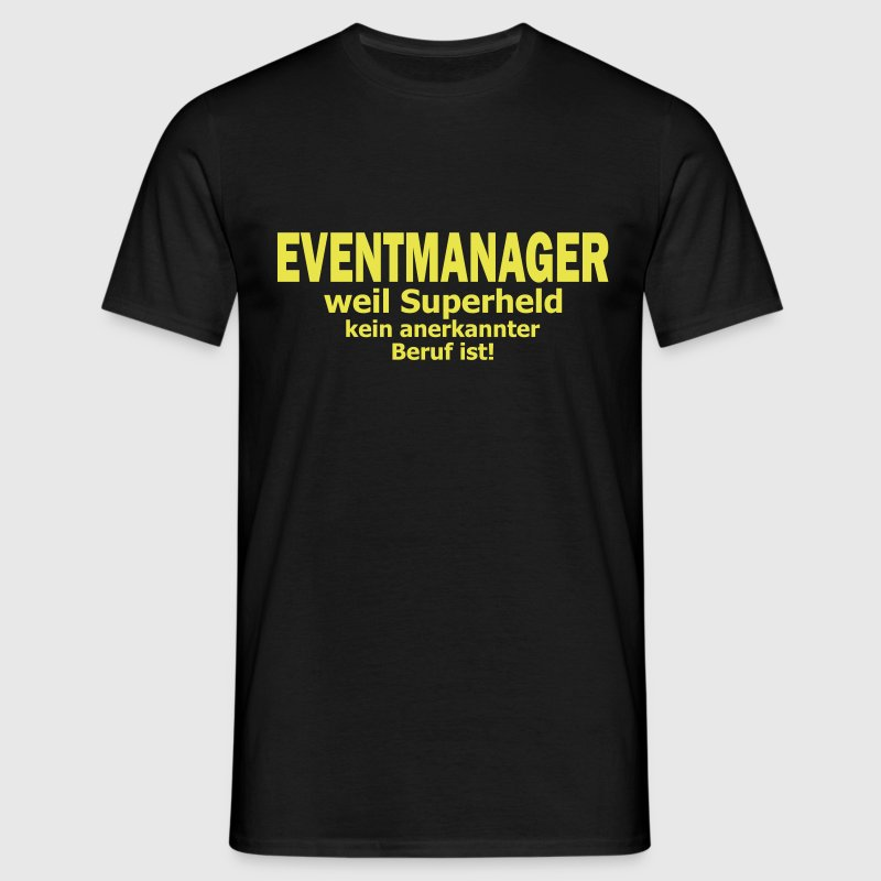 eventmanager - Männer T-Shirt