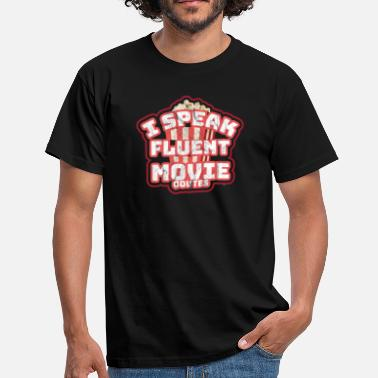 Apropå I Speak Fluent-Movie Quotes - T-shirt herr