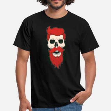 Bearded Skull Skull and beard - Men's T-Shirt