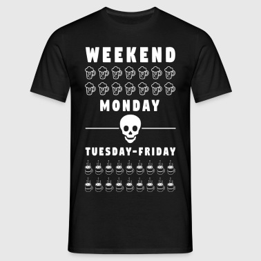 Weekend - Männer T-Shirt