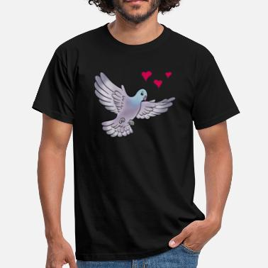 Pigeon colombe - T-shirt Homme