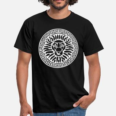 Lion Lioness Lion lion lion head head - Men's T-Shirt