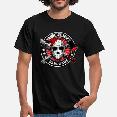 Horror Hockey Blood - T-shirt herr