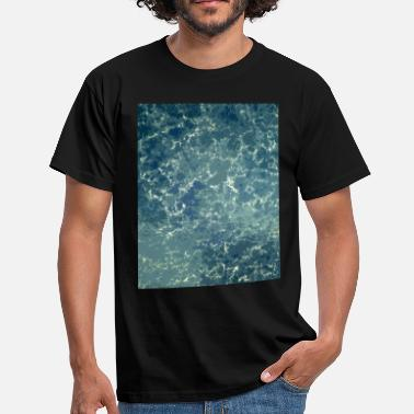 Textures texture of the sea - Men's T-Shirt