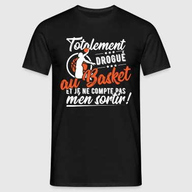 Drogue basket t-shirt humour basket - T-shirt Homme