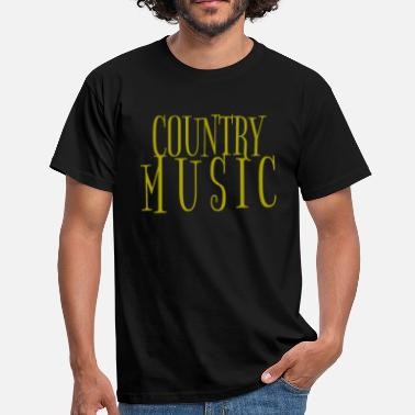 Western Country Country Musik Western Tanz - Männer T-Shirt