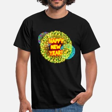 Happy New Year Happy new year! - Männer T-Shirt