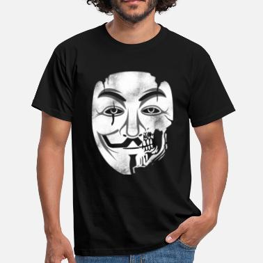 Anonymous Skull Anonymous Skull Mask - Men's T-Shirt