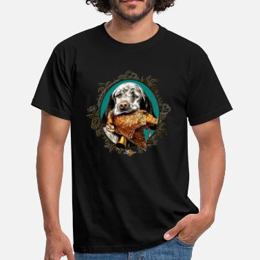 Chasse setter_and_woodcock - T-shirt Homme