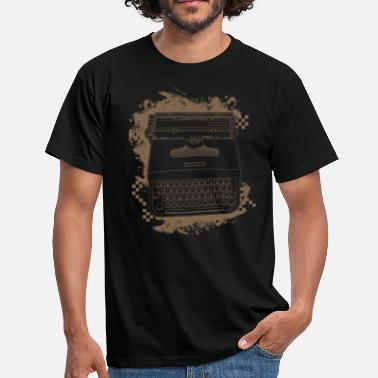 Typewriter - T-shirt Homme