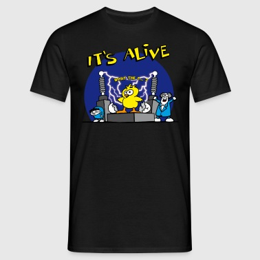 its_alive_chick_a - T-shirt herr
