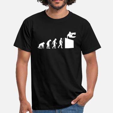 Parkour  Evolution Parkour - Männer T-Shirt